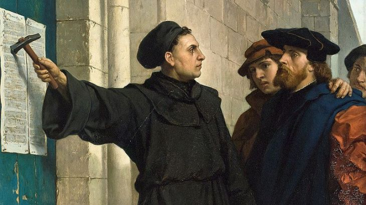 Luther95theses-Wiki-PD-Ferdinand-Powels